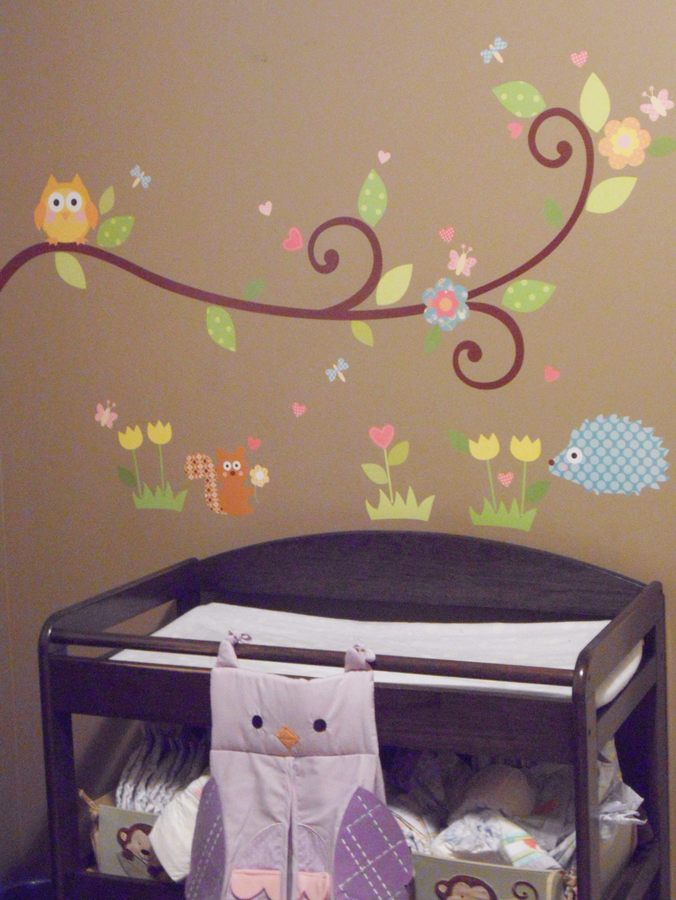 girly nursery