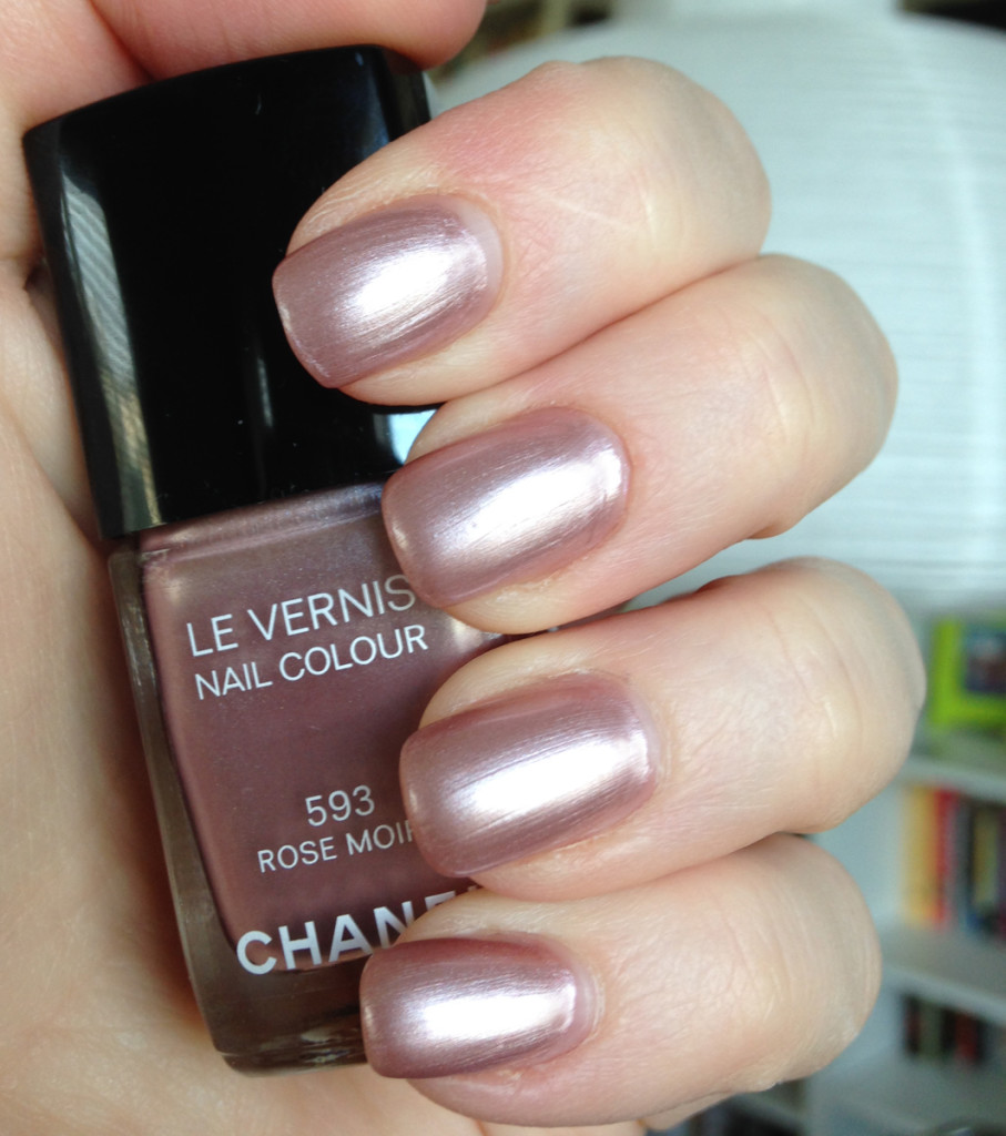 Chanel Rose Moire