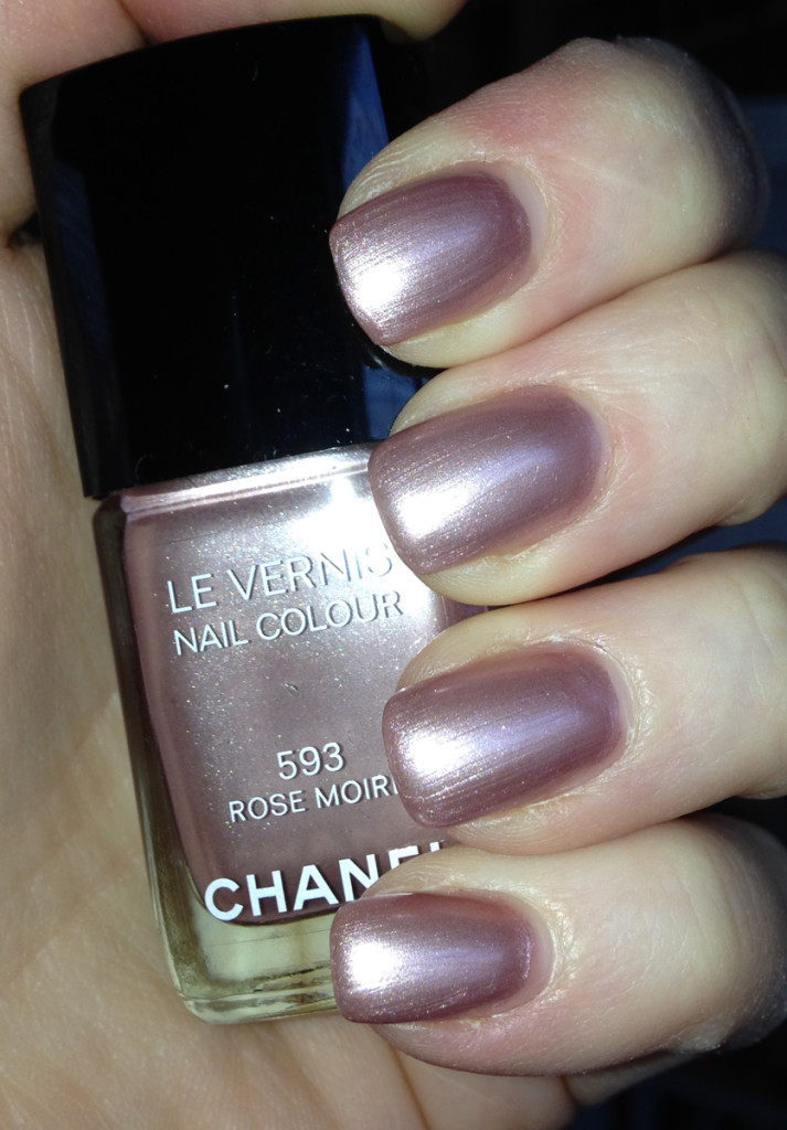 Chanel Rose Moire