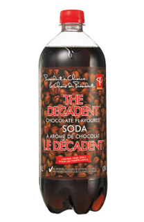 "President's Choice ""THe Decadent"" chocolate soda"