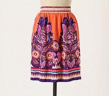 Anthropologie floral skirt, Phosphorescence skirt