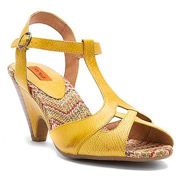 Miz Mooz yellow sandals
