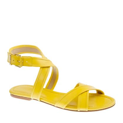 J. Crew lena sandals