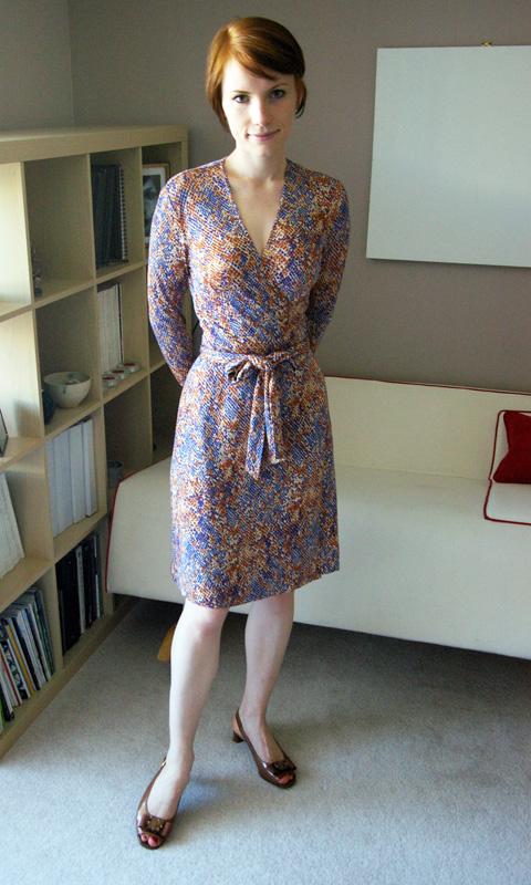 diane von furstenberg vintage lizard print wrap dress