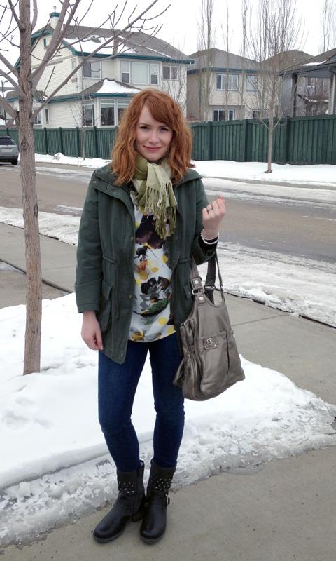 Rachel Roy floral blouse