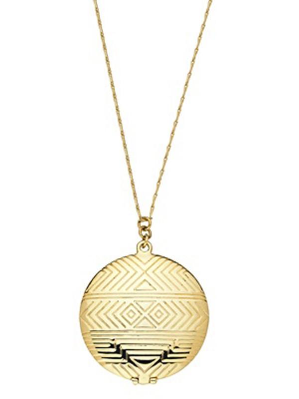 House of Harlow pendant locket