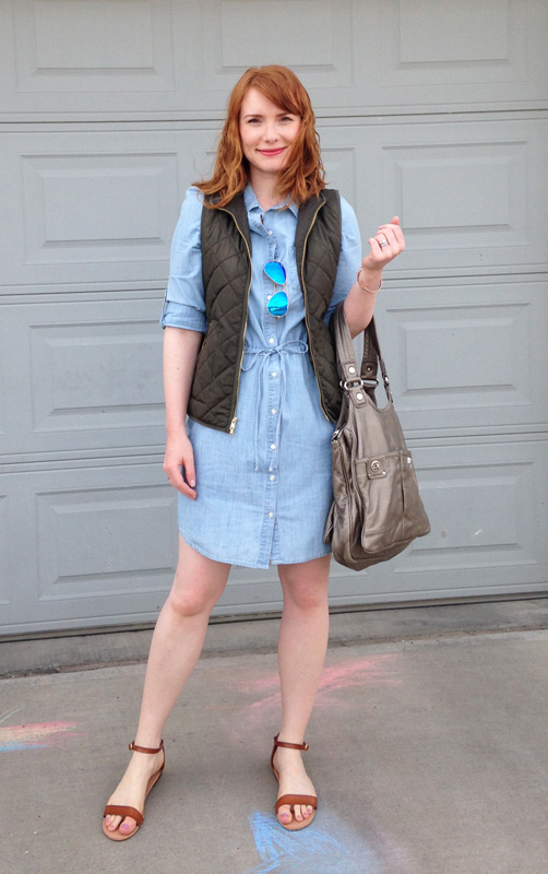 Old Navy chambray dress