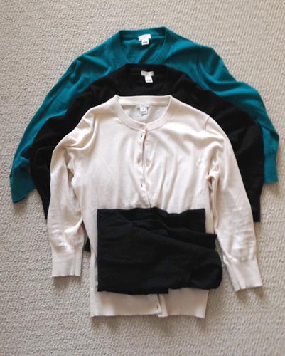 30 x 30 challenge; capsule wardrobe