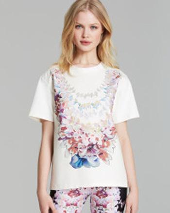 Cynthia Rowley Lei T-Shirt