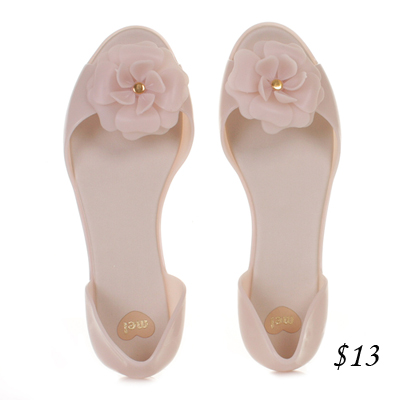 Mel jelly shoes flower