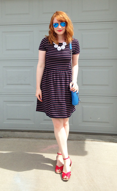Joe Fresh striped dress