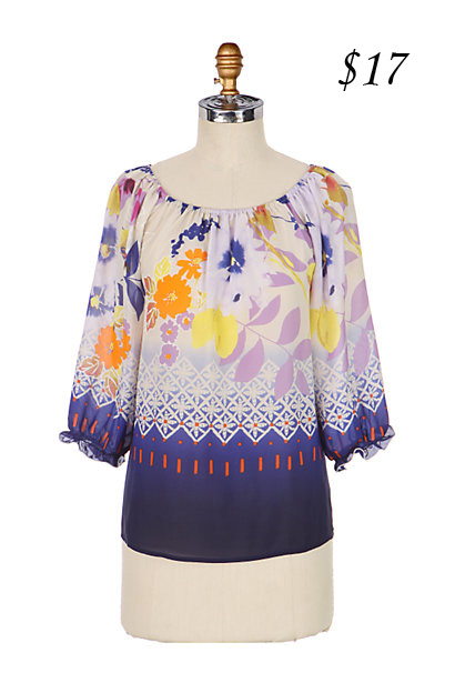 Anthropologie Fei Dreamland Blouse
