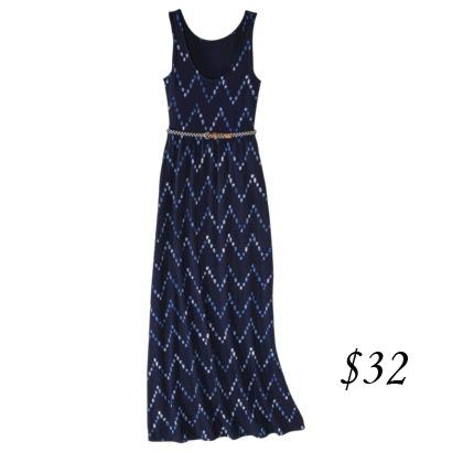 Merona Print Maxi Dress
