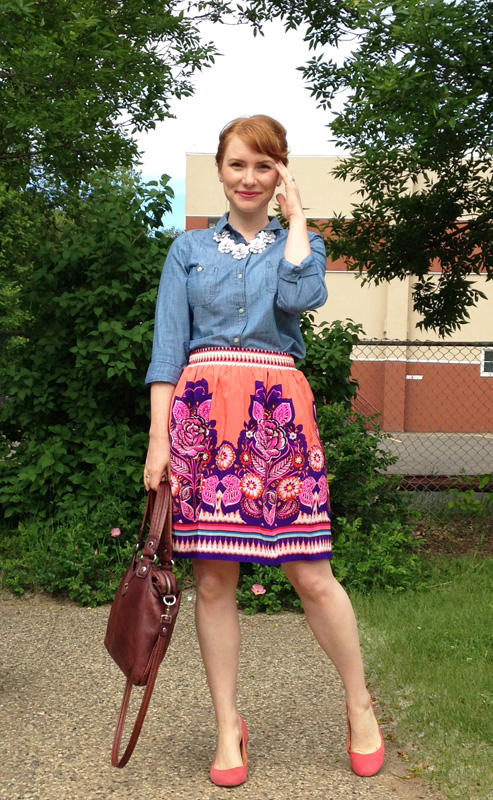 Anthropologie Phosphorescence skirt; Anthro floral skirt