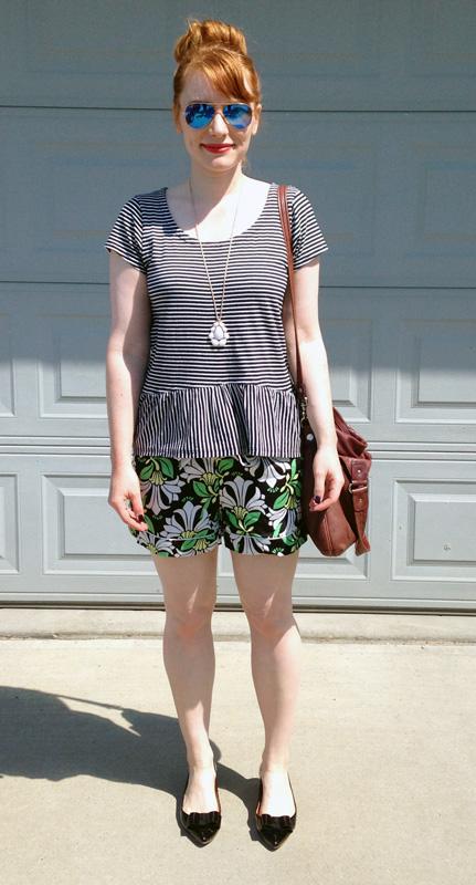 Joe Fresh floral shorts