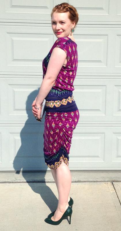 Rachel Roy sari dress