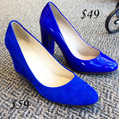 J. Crew Martina and Etta Pumps