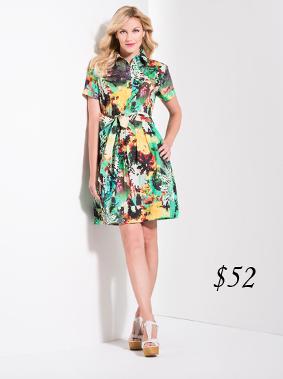 Katherine Barclay shirt dress