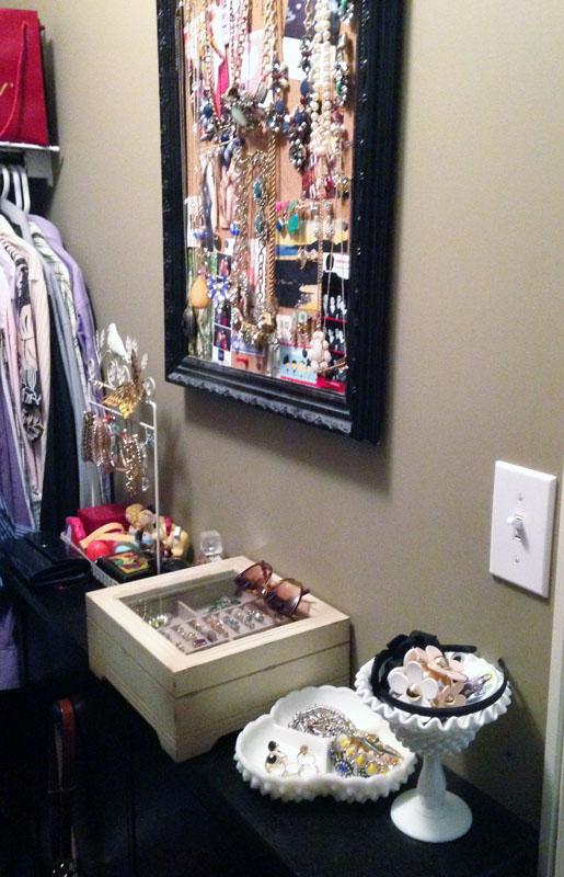 closet inventory; closet tour; jewelry inventory