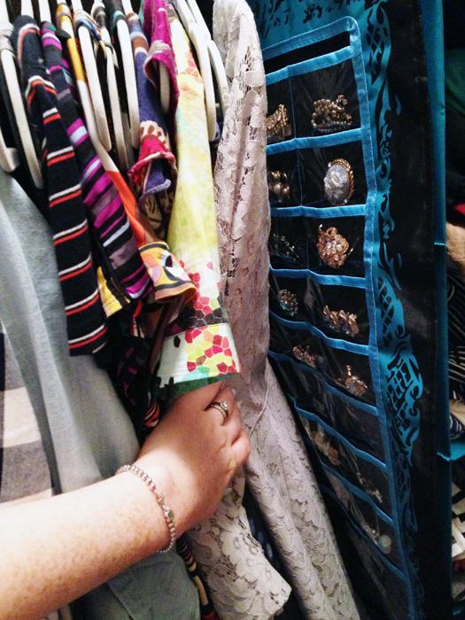 closet organization; closet tour; closet inventory; jewelry storage; jewelry organizer