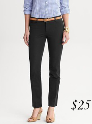 Banana Republic Sloan Ankle-Cut Pants
