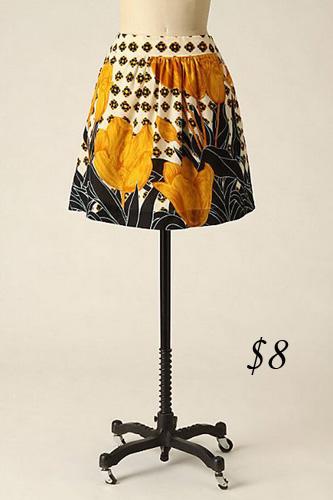 Edme & Esyllte Tulip Perspective Skirt