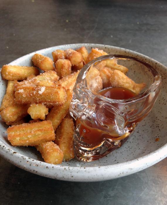 Edmonton El Cortez tequila bar; churros