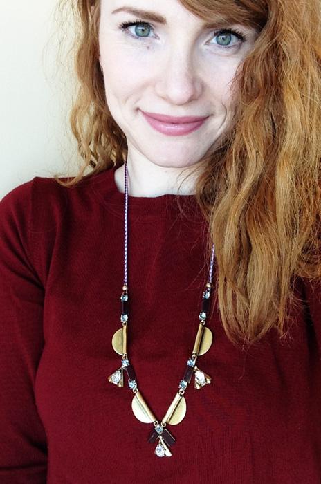 J. Crew melody tassel necklace