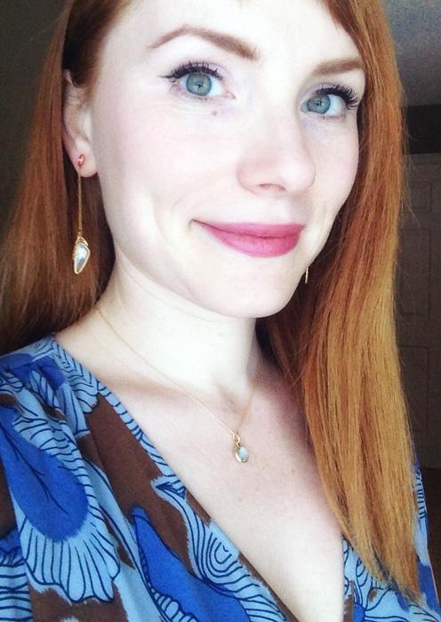 Tiffany Paloma blue topaz necklace