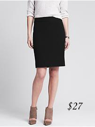 Banana Republic Sloan Skirt