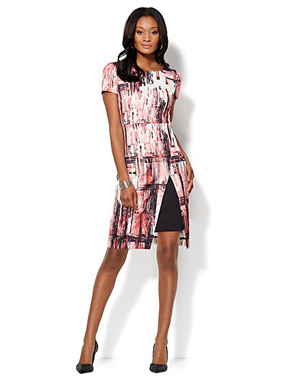 Beige by eci dress (lookalike)