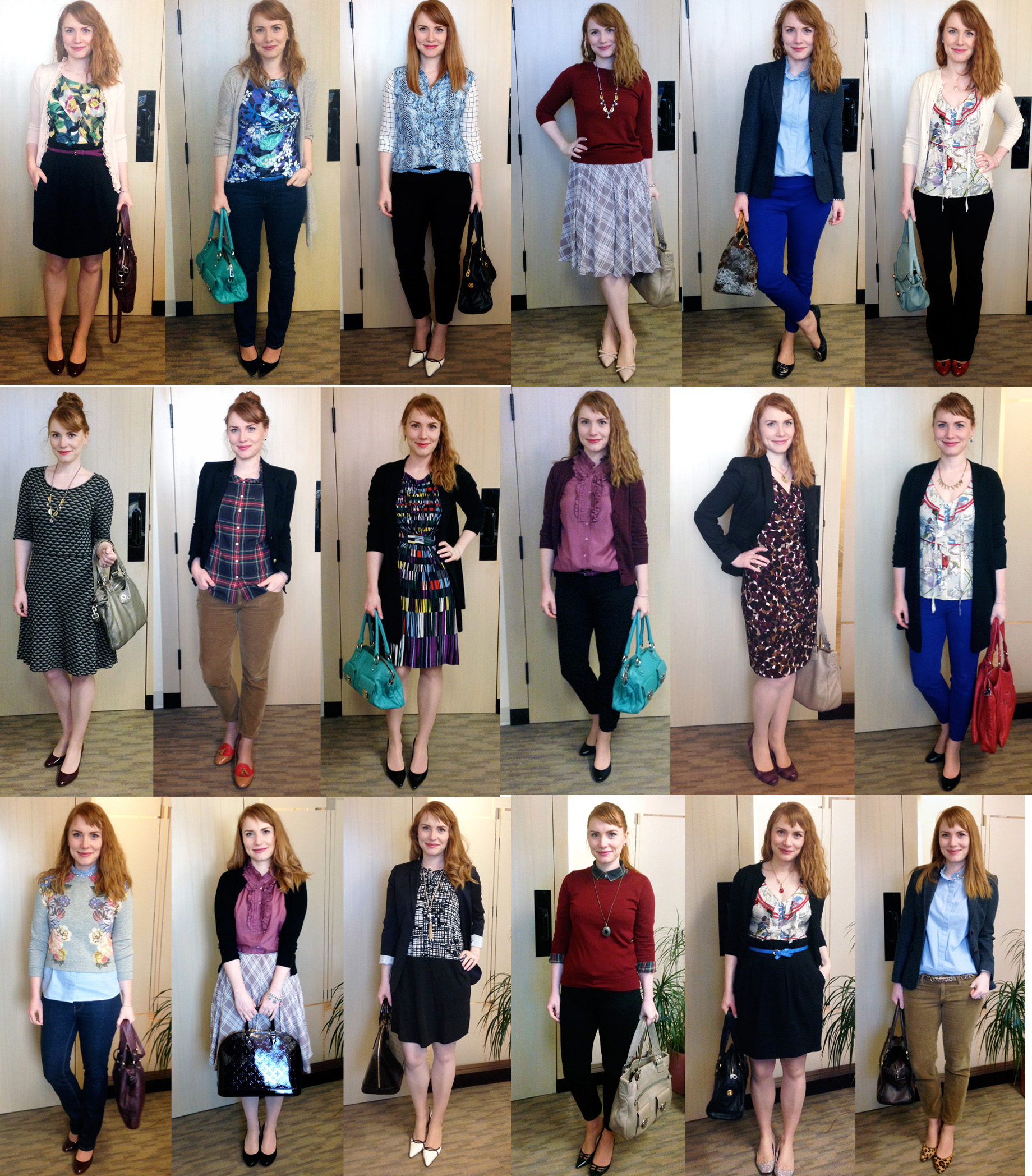 wrok wardrobe capsule; office capsule; work style