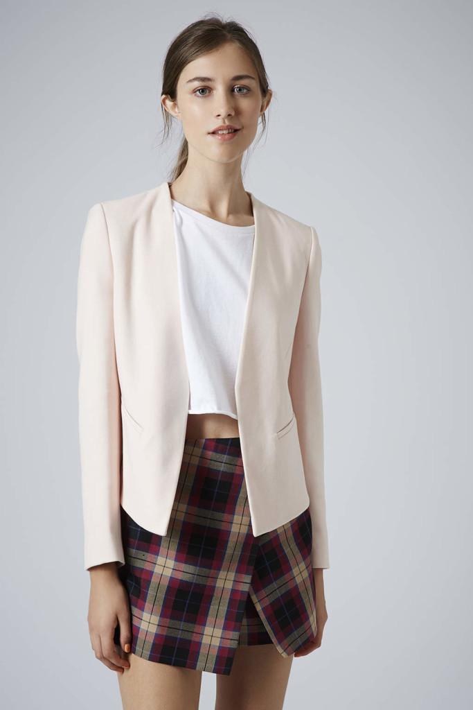 Topshop Slim Curve blazer