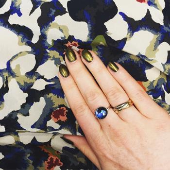notd: Dior Czarina Gold + Butter London Wallis