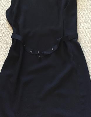 back/waist tie detail