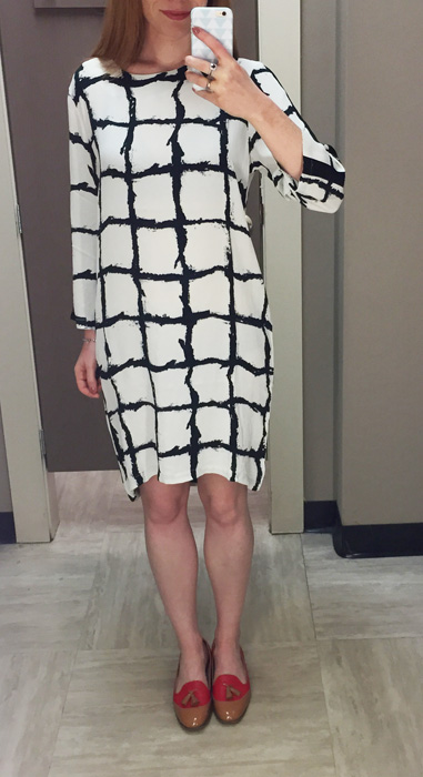 Forgot-the-European-brand dress ($80) at Winners