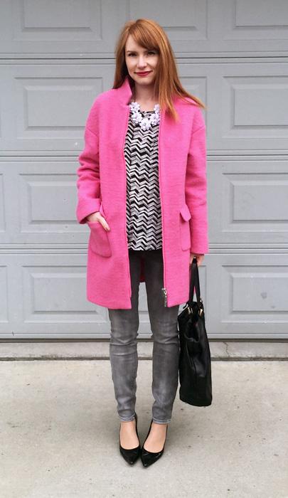 coat, Amaryllis