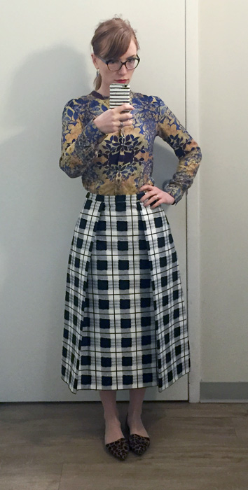 Lord & Taylor skirt ($38 on sale at The Bay)