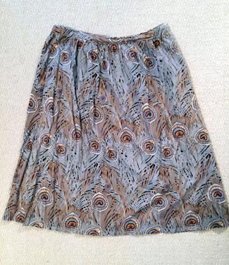 vintage skirt ($3)