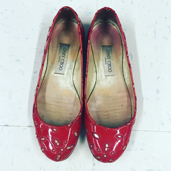 Jimmy Choo flats ($39.99)
