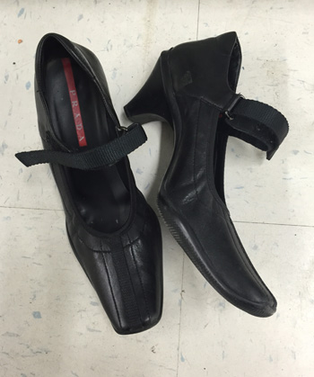 Prada shoes ($30?)