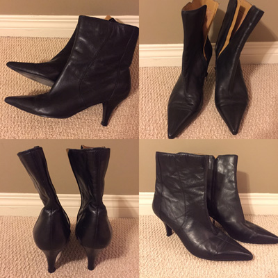 Nine West boots ($26 minus 30% off)