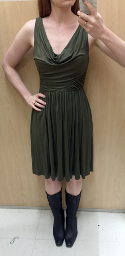 Anthropologie/Deletta dress ($10)