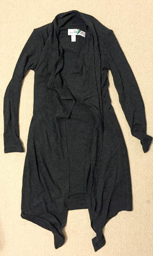 Joseph Ribkoff cardi-dress, $11