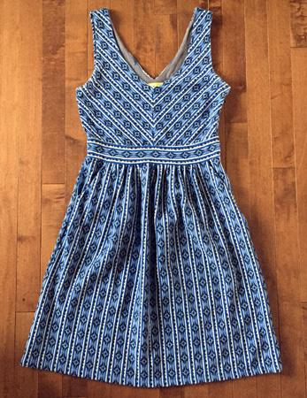 Maeve Lazuli dress ($7)