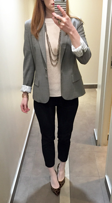 blazer, Theory (thrifted)