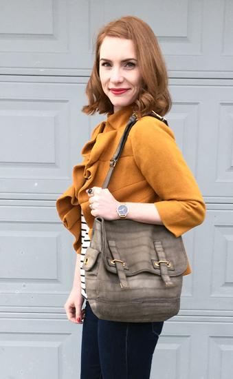 YSL Besace satchel (via eBay)