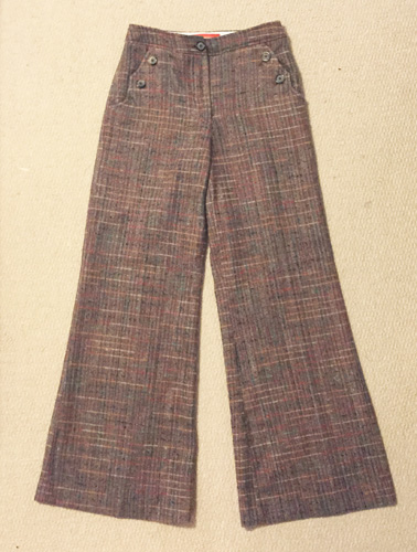 Cartonnier wool pants ($6)