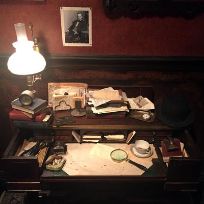Watson's desk