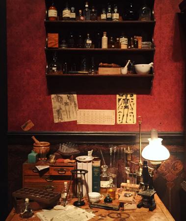 Sherlock's desk